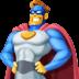 🦸♂️ man superhero Emoji on Facebook Platform