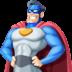 🦸🏻♂️ man superhero: light skin tone Emoji on Facebook Platform