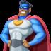 🦸🏾♂️ man superhero: medium-dark skin tone Emoji on Facebook Platform