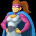 🦸♀️ woman superhero Emoji on Facebook Platform