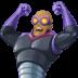 🦹🏾 supervillain: medium-dark skin tone Emoji on Facebook Platform