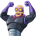 🦹🏼♂️ man supervillain: medium-light skin tone Emoji on Facebook Platform