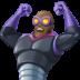 🦹🏿♂️ man supervillain: dark skin tone Emoji on Facebook Platform