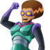🦹🏽♀️ woman supervillain: medium skin tone Emoji on Facebook Platform