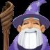 🧙🏼 mage: medium-light skin tone Emoji on Facebook Platform