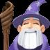 🧙🏻♂️ man mage: light skin tone Emoji on Facebook Platform