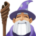 🧙🏼♂️ man mage: medium-light skin tone Emoji on Facebook Platform