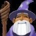 🧙🏾♂️ man mage: medium-dark skin tone Emoji on Facebook Platform