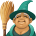 🧙🏽‍♀️ Medium Skin Tone Female Mage Emoji on Facebook Platform