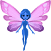 🧚🏿 fairy: dark skin tone Emoji on Facebook Platform
