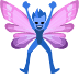 🧚🏿‍♂️ man fairy: dark skin tone Emoji on Facebook Platform
