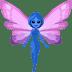 🧚🏿♀️ woman fairy: dark skin tone Emoji on Facebook Platform