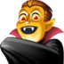 🧛‍♂️ man vampire Emoji on Facebook Platform