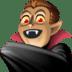 🧛🏽♂️ man vampire: medium skin tone Emoji on Facebook Platform