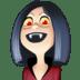 🧛🏻♀️ woman vampire: light skin tone Emoji on Facebook Platform