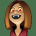 🧛🏽♀️ woman vampire: medium skin tone Emoji on Facebook Platform