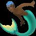 🧜🏿♂️ merman: dark skin tone Emoji on Facebook Platform
