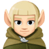 🧝🏻 elf: light skin tone Emoji on Facebook Platform