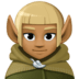 🧝🏾 elf: medium-dark skin tone Emoji on Facebook Platform