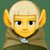 🧝♂️ man elf Emoji on Facebook Platform