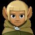 🧝🏾♂️ man elf: medium-dark skin tone Emoji on Facebook Platform