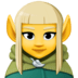 🧝‍♀️ woman elf Emoji on Facebook Platform