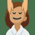 💆🏽 person getting massage: medium skin tone Emoji on Facebook Platform