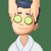 💆🏻♂️ Light Skin Tone Man Getting Massage Emoji on Facebook Platform