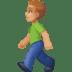 🚶🏼♂️ man walking: medium-light skin tone Emoji on Facebook Platform