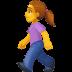 🚶♀️ woman walking Emoji on Facebook Platform
