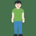 🧍🏻♂️ man standing: light skin tone Emoji on Facebook Platform
