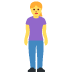 🧍‍♀️ woman standing Emoji on Facebook Platform
