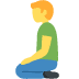 🧎 person kneeling Emoji on Facebook Platform