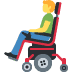 👨‍🦼 man in motorized wheelchair Emoji on Facebook Platform