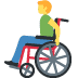 👨‍🦽 man in manual wheelchair Emoji on Facebook Platform