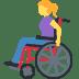 👩🦽 woman in manual wheelchair Emoji on Facebook Platform