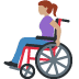 👩🏽‍🦽 woman in manual wheelchair: medium skin tone Emoji on Facebook Platform