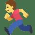 🏃 Person Running Emoji on Facebook Platform