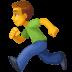 🏃♂️ man running Emoji on Facebook Platform