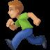 🏃🏼♂️ man running: medium-light skin tone Emoji on Facebook Platform