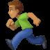 🏃🏽♂️ man running: medium skin tone Emoji on Facebook Platform