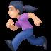 🏃🏻♀️ woman running: light skin tone Emoji on Facebook Platform