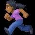 🏃🏾♀️ woman running: medium-dark skin tone Emoji on Facebook Platform