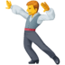 🕺 man dancing Emoji on Facebook Platform