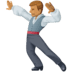 🕺🏽 man dancing: medium skin tone Emoji on Facebook Platform