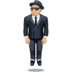 🕴🏼 man in suit levitating: medium-light skin tone Emoji on Facebook Platform