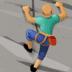 🧗🏽♂️ man climbing: medium skin tone Emoji on Facebook Platform