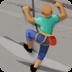 🧗🏾♂️ man climbing: medium-dark skin tone Emoji on Facebook Platform