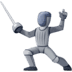 🤺 person fencing Emoji on Facebook Platform