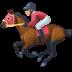 🏇🏼 horse racing: medium-light skin tone Emoji on Facebook Platform